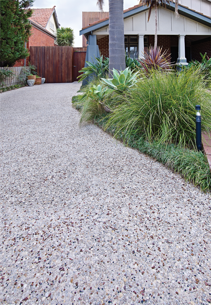 Berger Coating Exposed Aggregate